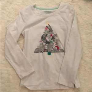 Cat & jack Cat Christmas Tree T-shirt